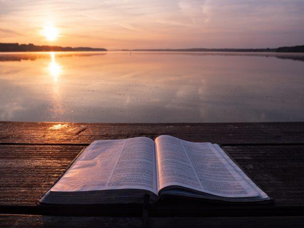 bible at sunrise